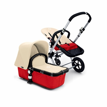 Bugaboo Cameleon 2012 Red w Off White