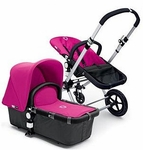 Bugaboo Cameleon Canvas Tailored Fabric Pink