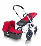 Bugaboo Cameleon Canvas Tailored Fabric Red