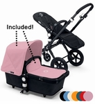 Bugaboo Cameleon3 Complete Stroller All Black Base + Extendable Fabric
