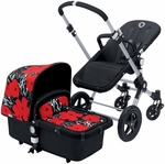 Bugaboo Cameleon3 Andy Warhol Flowers Black Base