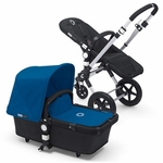 Bugaboo Cameleon3 Black Base w Royal Blue Fabric