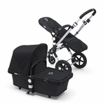 Bugaboo Cameleon3 Dark Grey Base w Black Fabric
