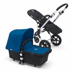 Bugaboo Cameleon3 Dark Grey Base w Royal Blue Fabric