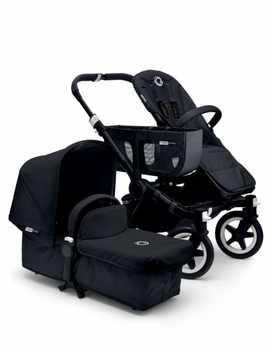 Bugaboo Donkey Mono 2014 Extendable All Black/Black