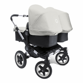 Bugaboo Donkey Twin Stroller Off White