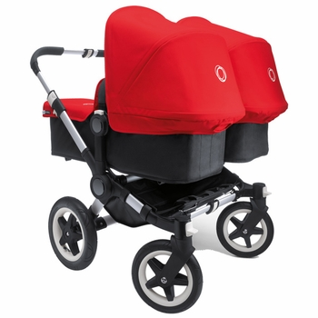 Bugaboo Donkey Twin Stroller Red
