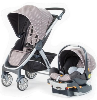 Chicco Bravo Trio Travel Systems Free Shipping