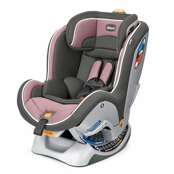 Chicco NextFit Convertible Car Seat Rose