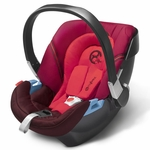 Cybex Aton Infant Car Seat 2013 Poppy Red