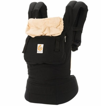 Ergo Baby Carrier Black/Camel