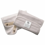 Ergo Baby Organic Infant Teething Pad Natural with Snaps