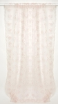 Glenna Jean Ava Sheer Window Panel (Pink Dimensional Floral) (Aprox 100x52)