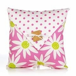 Glenna Jean Cartwheels Button Pillow