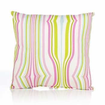 Glenna Jean Cartwheels Stripe Pillow
