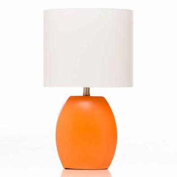 Glenna Jean Orange Table Lamp