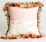 Glenna Jean Isabella Pillow - Patch and Tassels