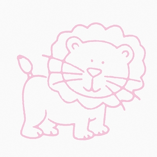 Glenna Jean Lion Wall Decal