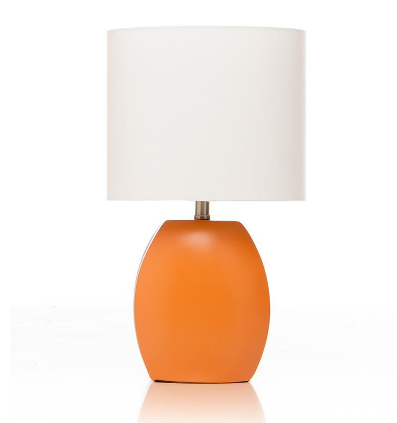 Glenna Jean Millie Orange Table Lamp Free Shipping
