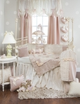 Glenna Jean Ribbons & Roses Bedding Set