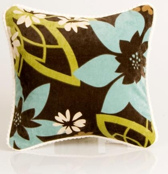 Glenna Jean Spa Floral Pillow