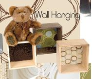 Glenna Jean Spa Wall Hanging - Bears w Blocks