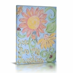 "Green Frog Baby ""You are My Sunshine"" Canvas"