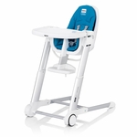 Inglesina Zuma High Chair White/Light Blue