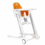 Inglesina Zuma High Chair White/Orange