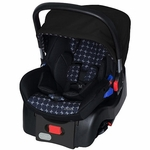 JJ Cole Newport Infant Car Seat - Gray Drop