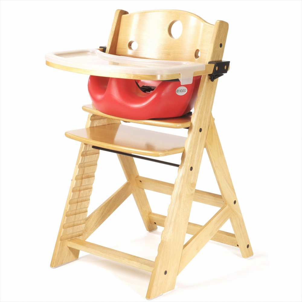 Keekaroo Height Right High Chair Tray Infant Insert Natural