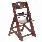 Keekaroo Height Right Kids Chair Mahogany