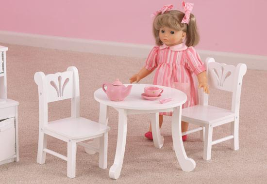 Alfa img - Showing KidKraft Doll Table and Chairs