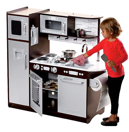 Nice Kidkraft Uptown Play Kitchen Espresso Photos >> Kitchen ...