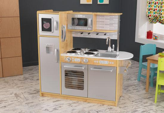 Mom, & Baby > Toys > Kitchen Sets > KidKraft Uptown Natural
