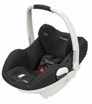 Maxi Cosi Prezi Infant Seat White/Devoted Black