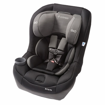 Maxi Cosi Pria 70 Convertible Car Seat (Total Black)