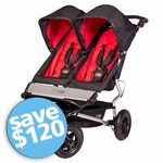Mountain Buggy Duet Double Buggy  Chili