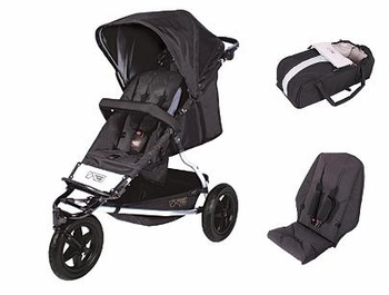 Mountain Buggy Plus One Stroller (2012)