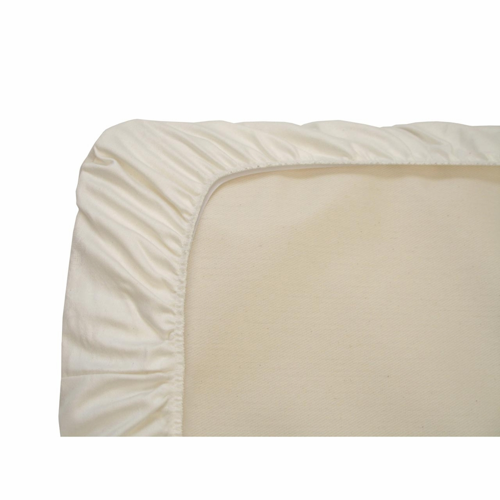 Naturepedic Organic Cotton Crib Fitted Sheet Flannel