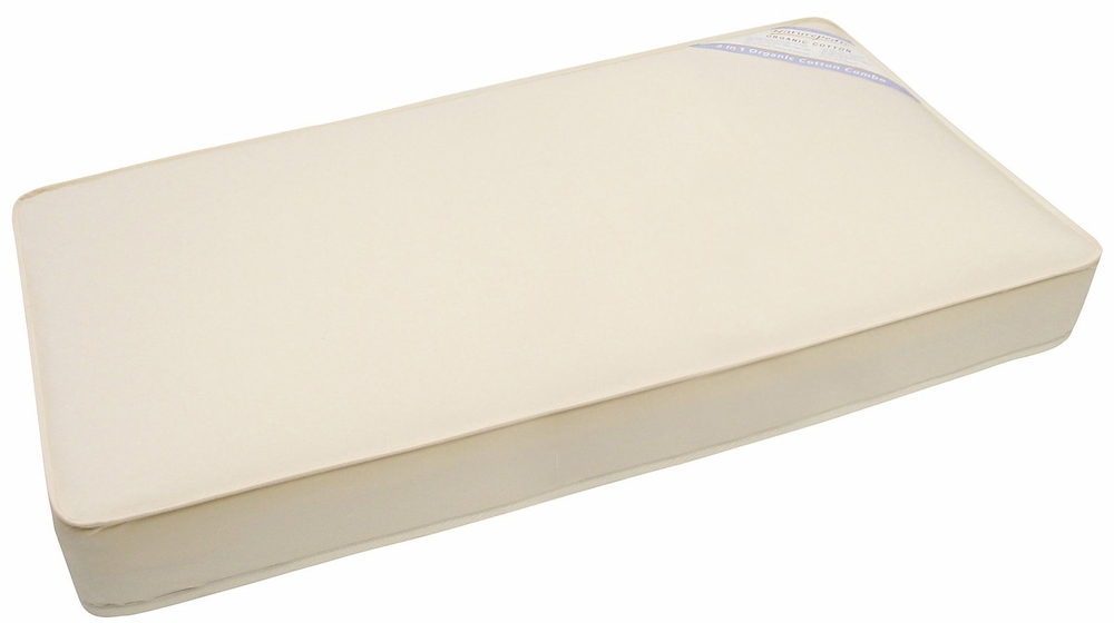Naturepedic Organic Cotton Infant Portable Crib Mattress ...