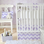 New Arrivals Inc Zig Zag Baby in Lavender