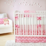 New Arrivals Inc Zig Zag Baby in Pink Sugar