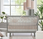 Oilo Crib Bedding Set Freesia Blush
