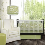 Oilo Crib Bedding Set Spring Green Modern Beddies