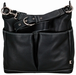 OiOi 2 Pocket Hobo Leather Bags