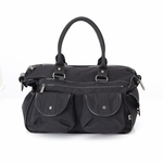 OiOi Carry-All Black/Patent Trim