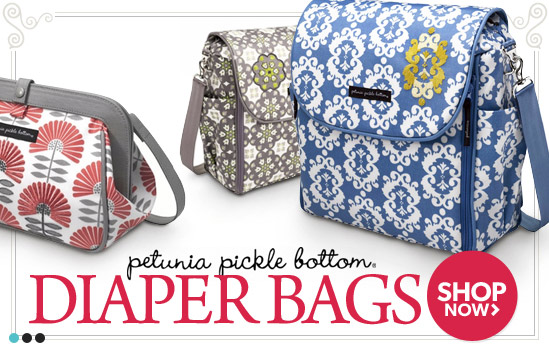 Petunia Pickle Bottom Diaper Bags