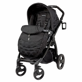 Peg Perego Book Plus Stroller Pois Black