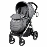 Peg Perego Book Plus 2013 Stroller Pois Grey